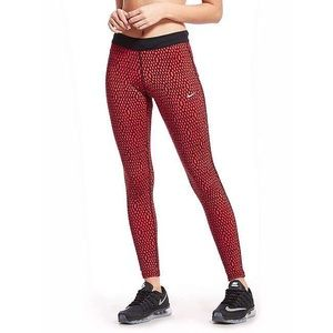 Nike dri fit relay mirror leggings patterned EUC